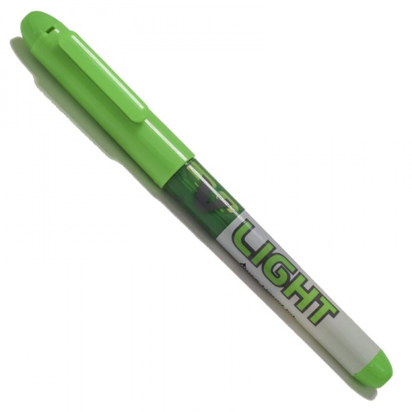 subrayador_pilot_v_light_verde